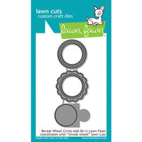 Lawn Fawn - Lawn Cuts - Dies - Reveal Wheel Circle Add-On