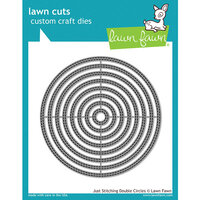 Lawn Fawn - Lawn Cuts - Dies - Just Stitching Double Circles