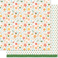 Lawn Fawn - Fall Fling Collection - 12 x 12 Double Sided Paper - Chari