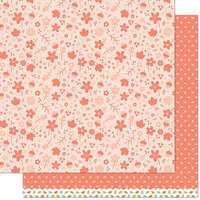 Lawn Fawn - Fall Fling Collection - 12 x 12 Double Sided Paper - Renata