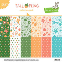 Lawn Fawn - Fall Fling Collection - 12 x 12 Collection Pack