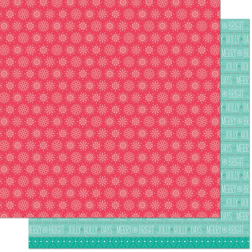 Lawn Fawn - Snow Day Remix Collection - 12 x 12 Double Sided Paper - Beanie Remix
