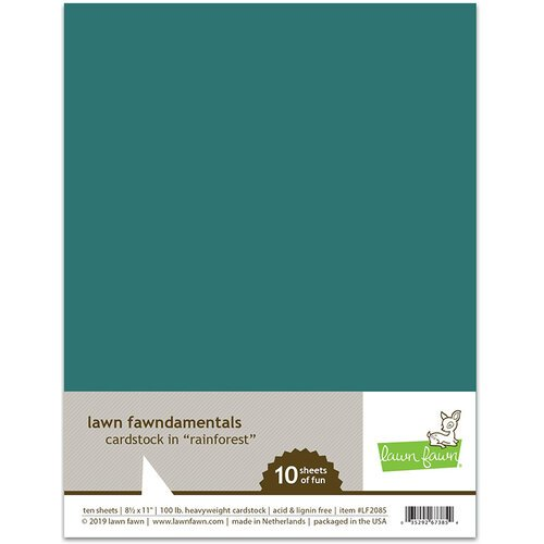 Lawn Fawn Rainforest Cardstock