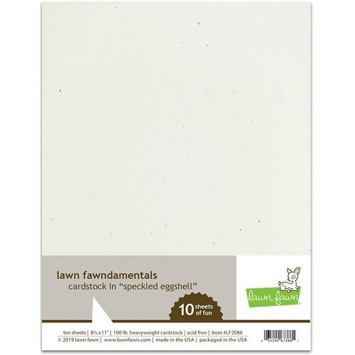 Lawn Fawn Speckled Eggshell Cardstock