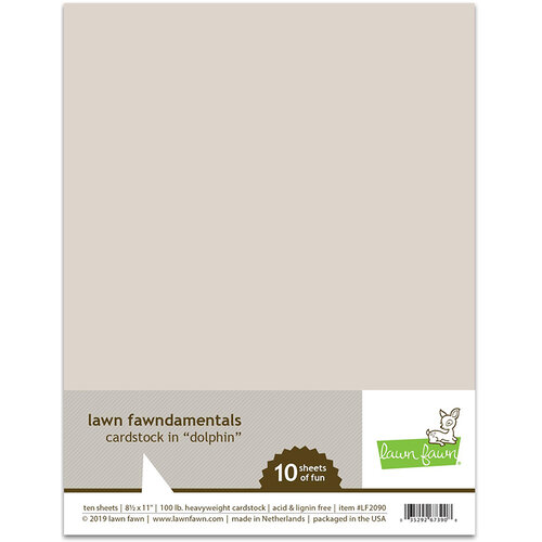Lawn Fawn Dolphin Cardstock