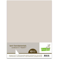 Lawn Fawn - 8.5 x 11 Cardstock - Dolphin - 10 Pack
