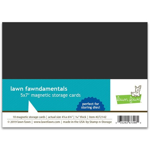 Lawn Fawn - Magnetic Storage Cards - 5 x 7