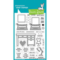 Lawn Fawn - Clear Photopolymer Stamps - You're Just My Type
