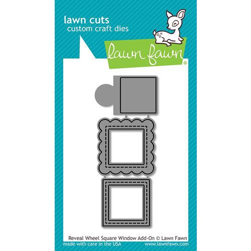 Lawn Fawn - Lawn Cuts - Dies - Reveal Wheel Square Window Add-On