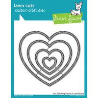Lawn Fawn - Lawn Cuts - Dies - Just Stitching Hearts