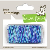 Lawn Fawn - Lawn Trimmings - Baker's Twine Spool - Mermaid's Lagoon Sparkle