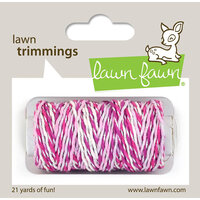 Lawn Fawn - Lawn Trimmings - Baker's Twine Spool - Pretty in Pink Sparkle
