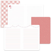 Lawn Fawn - Mini Notebooks - Perfectly Pink