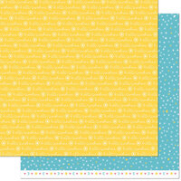 Lawn Fawn - Hello Sunshine Remix Collection - 12 x 12 Double Sided Paper - Luna Remix