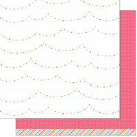 Lawn Fawn - Hello Sunshine Remix Collection - 12 x 12 Double Sided Paper - Claire Remix