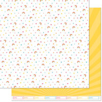 Lawn Fawn - Hello Sunshine Remix Collection - 12 x 12 Double Sided Paper - April Remix