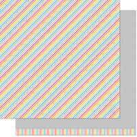 Lawn Fawn - Hello Sunshine Remix Collection - 12 x 12 Double Sided Paper - Stella Remix