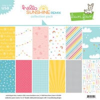 Lawn Fawn - Hello Sunshine Remix Collection - 12 x 12 Collection Pack