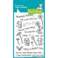 Lawn Fawn - Clear Photopolymer Stamps - Dandy Day