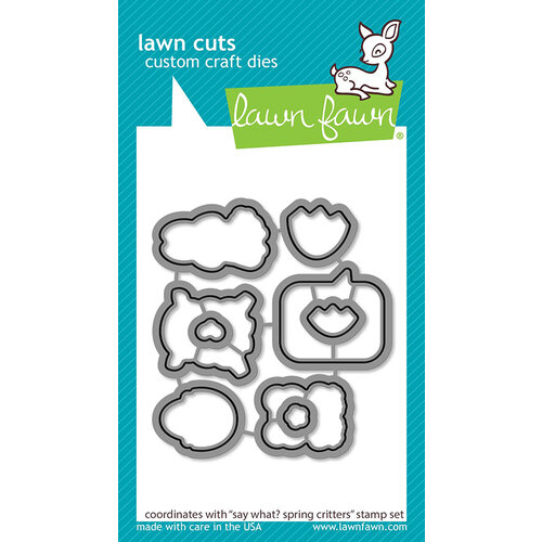 Lawn Fawn - Lawn Cuts - Dies - Say What Spring Critters