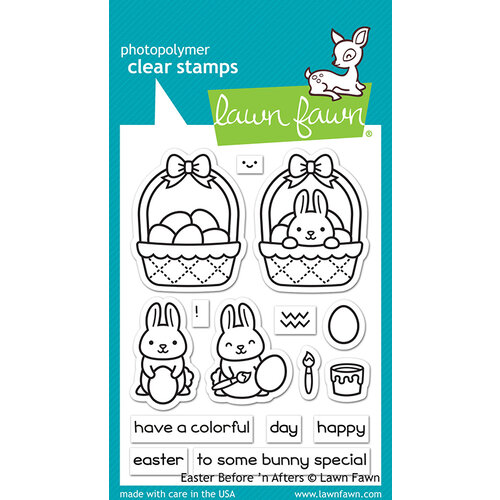 Lawn Fawn - Clear Photopolymer Stamps - Easter Before 'n Afters