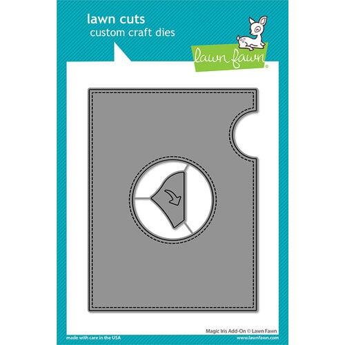 Lawn Fawn - Lawn Cuts - Dies - Magic Iris Add-On