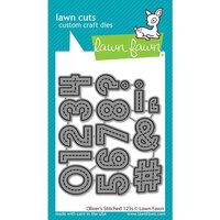 Lawn Fawn - Lawn Cuts - Dies - Oliver's Stitched 123s