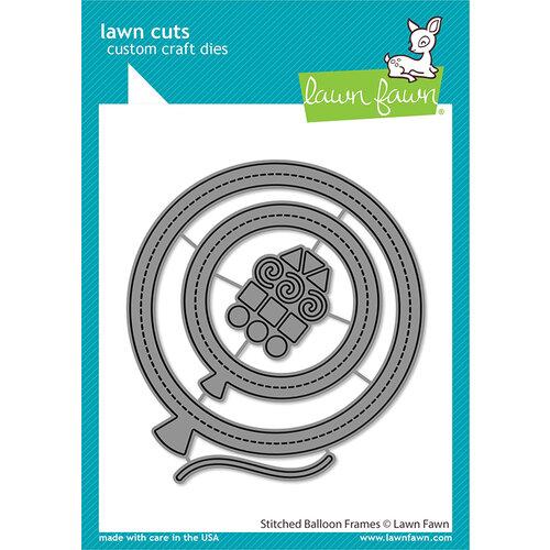 Lawn Fawn - Lawn Cuts - Dies - Stitched Balloon Frames