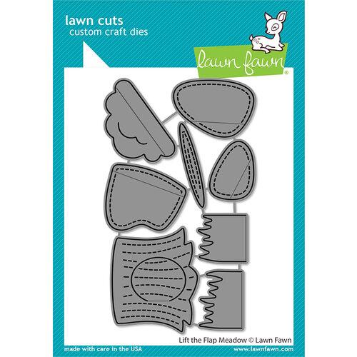 Lawn Fawn - Lawn Cuts - Dies - Lift the Flap Meadow