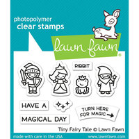 Lawn Fawn - Clear Photopolymer Stamps - Tiny Fairy Tale