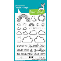 Lawn Fawn - Clear Photopolymer Stamps - All the Clouds