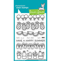 Lawn Fawn - Clear Photopolymer Stamps - Simply Celebrate Summer