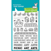 Lawn Fawn - Clear Photopolymer Stamps - Crazy Antics