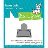 Lawn Fawn - Lawn Cuts - Dies - Reveal Wheel Car Critters Add-On