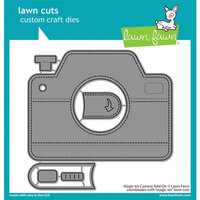 Lawn Fawn - Lawn Cuts - Dies - Magic Iris Camera Add-On