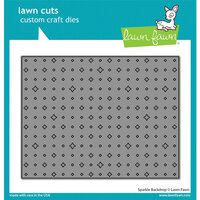 Lawn Fawn - Lawn Cuts - Dies - Sparkle Backdrop