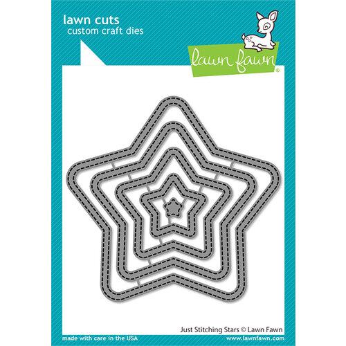 Lawn Fawn - Lawn Cuts - Dies - Just Stitching Stars
