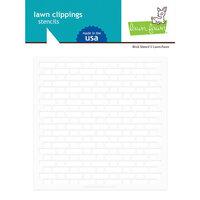 Lawn Fawn - Stencil - Brick