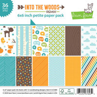 Lawn Fawn - Into the Woods Remix - 6 x 6 Petite Paper Pack