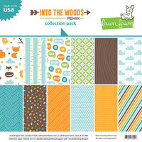 Lawn Fawn - Into the Woods Remix - 12 x 12 Collection Pack