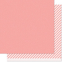 Lawn Fawn - 12 x 12 Double Sided Paper - Let it Shine - Pink Sprinkle