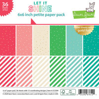 Lawn Fawn - Let it Shine - 6 x 6 Petite Paper Pack