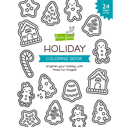 Lawn Fawn - Coloring Book - Holiday