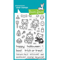 Lawn Fawn - Clear Photopolymer Stamps - Fox Costumes Before 'n Afters