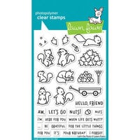 Lawn Fawn - Clear Photopolymer Stamps - Let's Go Nuts