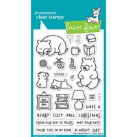 Lawn Fawn - Clear Photopolymer Stamps - Den Sweet Den