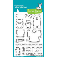 Lawn Fawn - Clear Photopolymer Stamps - Snow Much Fun