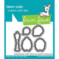 Lawn Fawn - Lawn Cuts - Dies - Peas on Earth