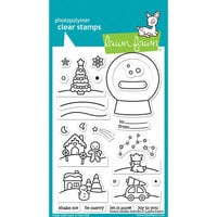 Lawn Fawn - Clear Photopolymer Stamps - Snow Globe Scenes