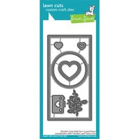 Lawn Fawn - Lawn Cuts - Dies - Shutter Card - Add-On
